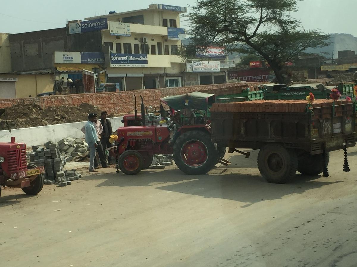 Hart arbeiten Indien