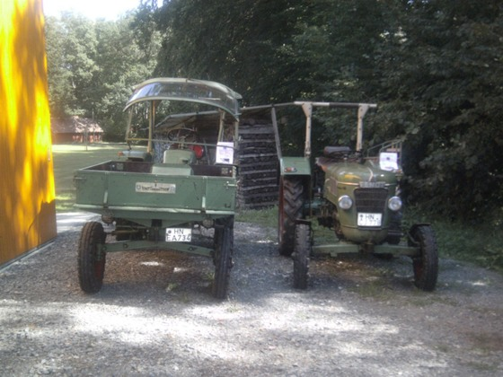 Fendt GT 230 und Fendt Farmer 2 D