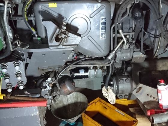 Einbau Motorvorwärmung