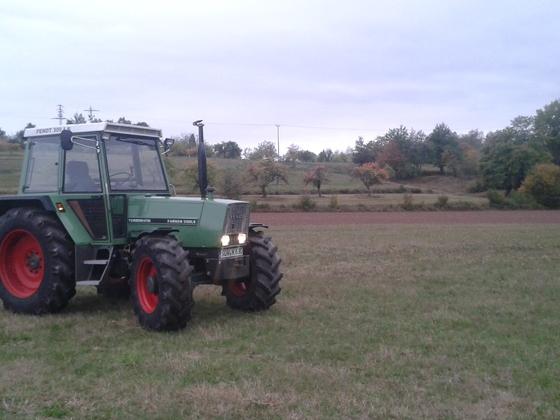 Farmer 309 LS Ausfahrt