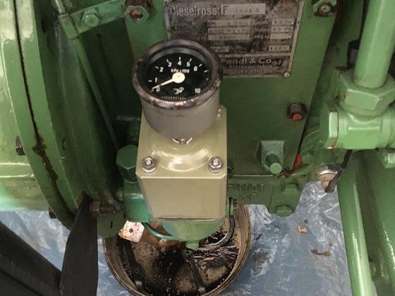 Oelfiltrumbau mit Druckanzeiger