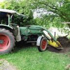 Fendt Farmer 3S, Baujahr 1967, der noch arbeiten muss ... oder darf?!