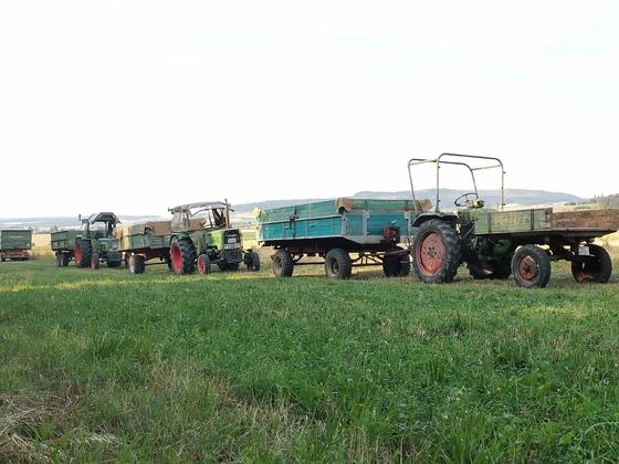 Fendt GT225 und Farmer 2S und 4S im Einsatz