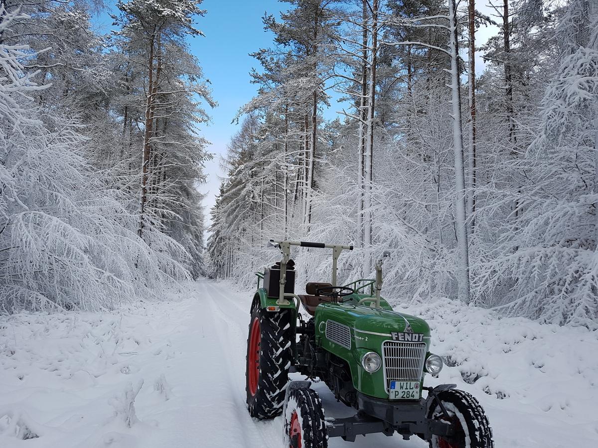 Winter 2017 in der Eifel kalt aber wunderschön