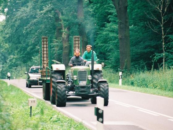 Favo 3 S auf der Reise zum Schlüter abholen.