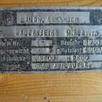 Anhänger Bauernfeind Marktredwitz Baujahr 1950