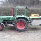 Farmer 200s mit Binderberger Kreissäge