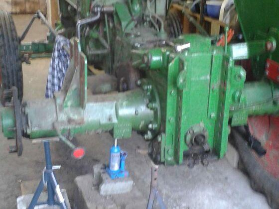 Reparatur und abdichten achstrichter favo 1