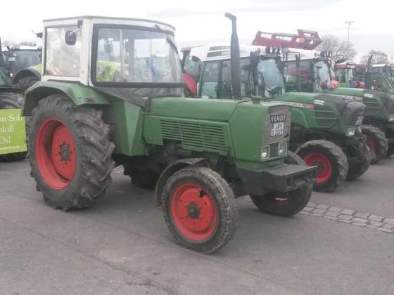 Traktor Demo in Stuttgart
