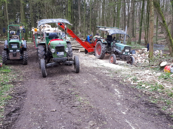 Fendt Power Farmer 2E,2D und 260 V