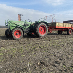 Fendt Farmer 3 SA mit Krone Optimat