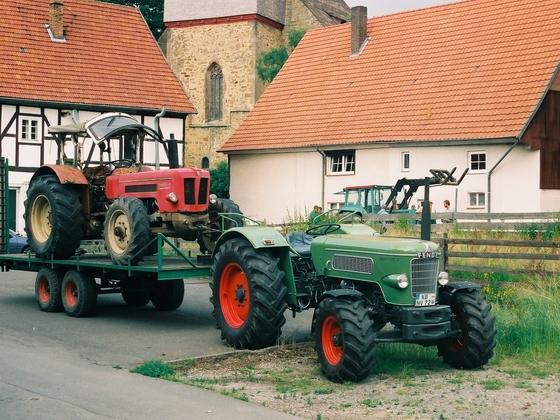 Fendt Fav 3 S mit Schlüter Super 650 V