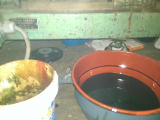 Ölbadfilter tausch