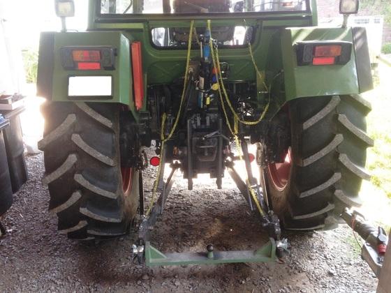 Fendt Farmer 308 LSA - mal von hintern