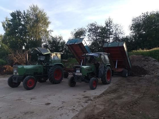 Fendt farmer 2S und 4S im Einsatz von