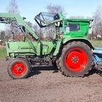 Farmer 5s und Isaria Sämaschine