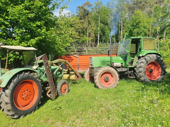 Fendt Farmer 2 und Favorit 612s