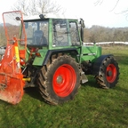 Fendt Farmer 309LS mit Farmi 5to Seilwinde
