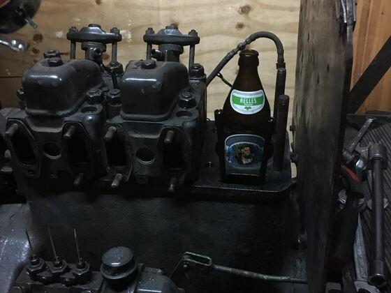 Zylinderkopfdichtung + Pleullager wechseln