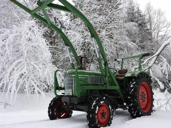 F 2 im Schnee