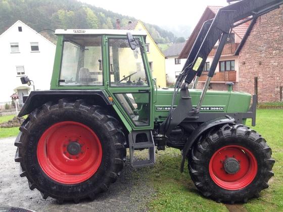 Fendt Farmer 308 LSA - Der neue ist eingetroffen 2