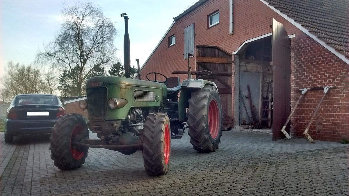 Fendt Farmer 3sa, technische Überholung