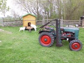 fahrbare Weidehütte