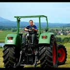 Fendt Favorit 612s mit Rüfa