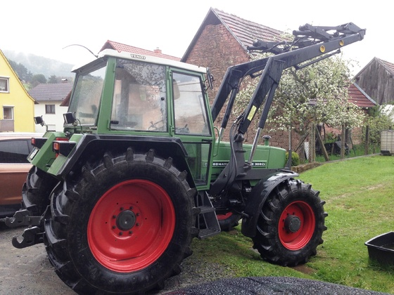 Fendt Farmer 308 LSA - Der neue ist eingetroffen 1