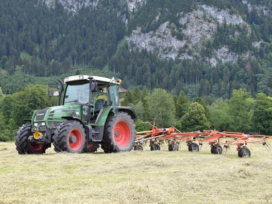 Fendt Farmer 309 + Kreiselheuer