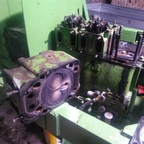Motor wird neu aufgebaut Favorit 2 FW150