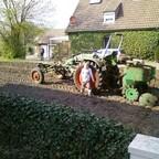 Unser F230 GT beim alljährlichen Kartoffellegen