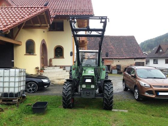 Fendt Farmer 308 LSA - Der neue ist eingetroffen 3