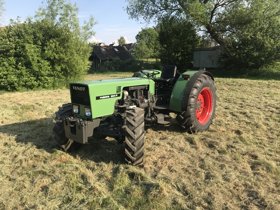Fendt Farmer 204 P nach der restauration