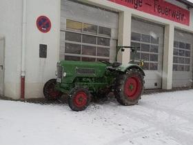 Fendt im Schnee