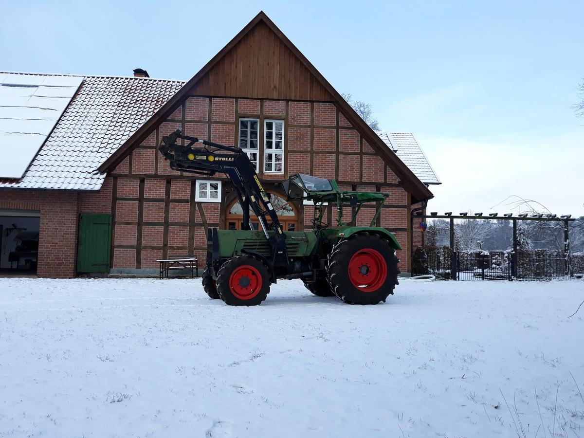 Favorit 10S im Schnee