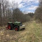 102s FL135 im Wald