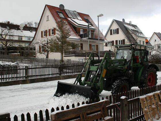 endlich Schnee -:)