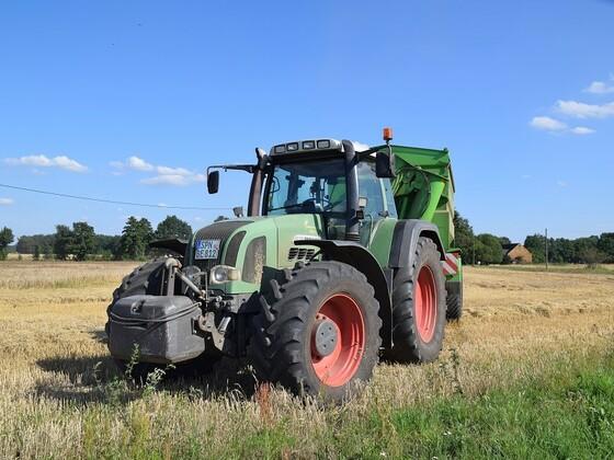 Fendt bei Getreide Ernte