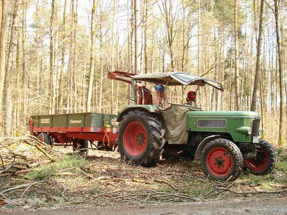 Gespann Farmer 3S mit Krone Anhänger
