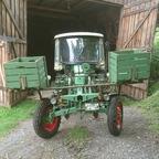 Kartoffellegegerät fertig angebaut