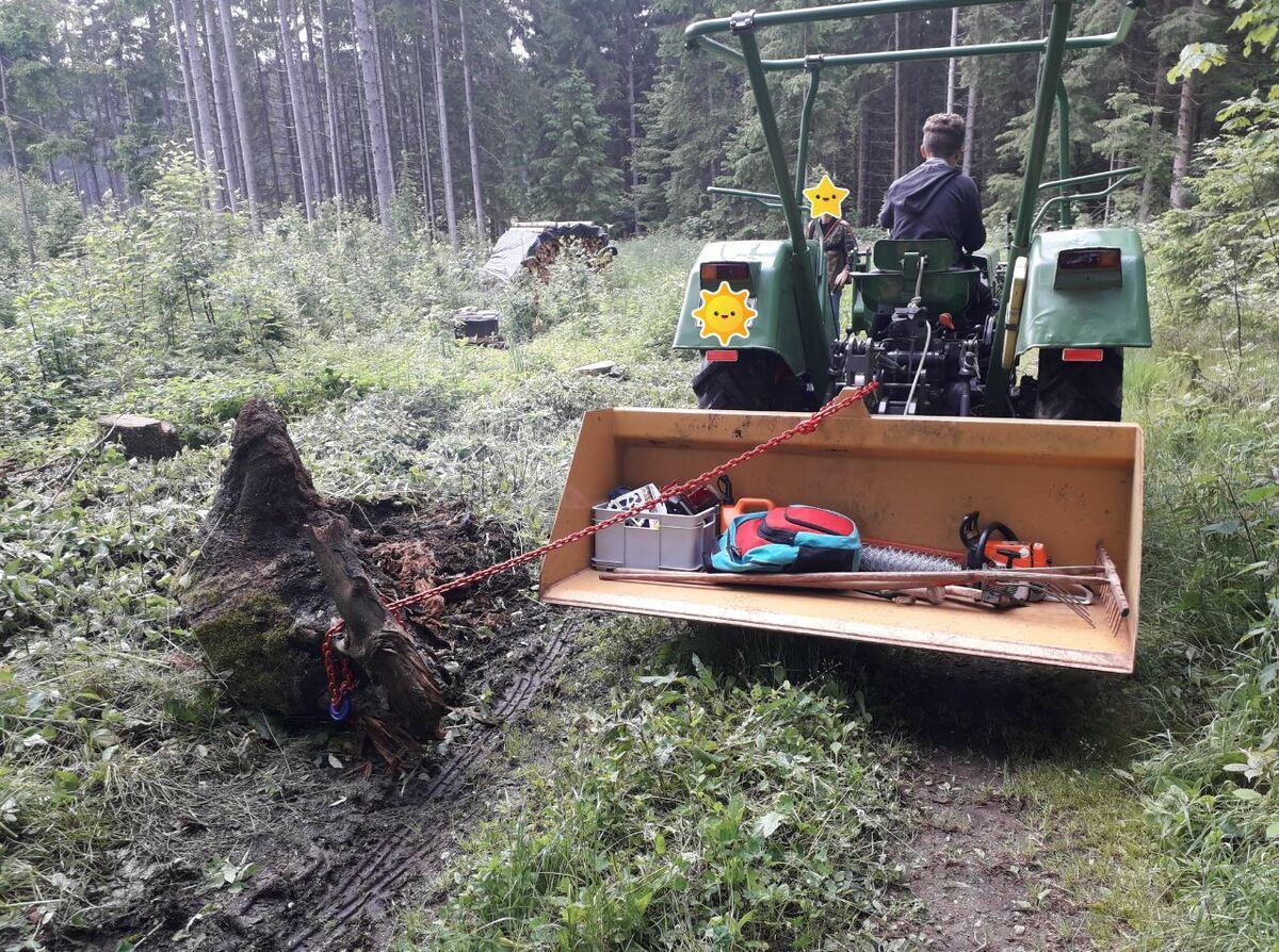 Farmer 2S - erste Einsaetze