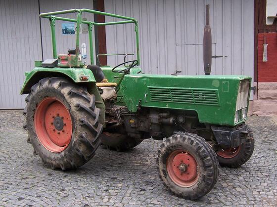 Farmer 2 S von 1972 bei der Ankunft