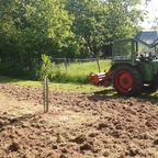 Farmer 102 S mit Kuhn Fräse 1,8m