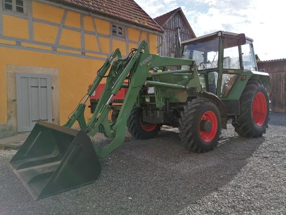 Mein Fendt Farmer 304LSA sieht jetzt wieder aus wie neu