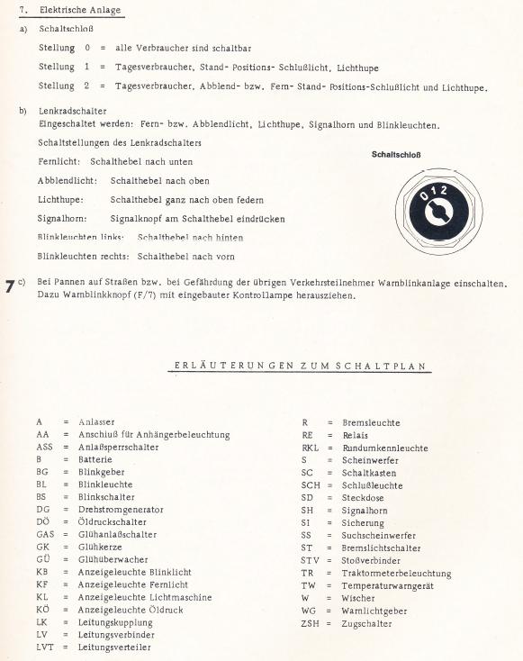 Berühmt Schaltplan Für Anhängerbeleuchtung Und Bremsen ...
