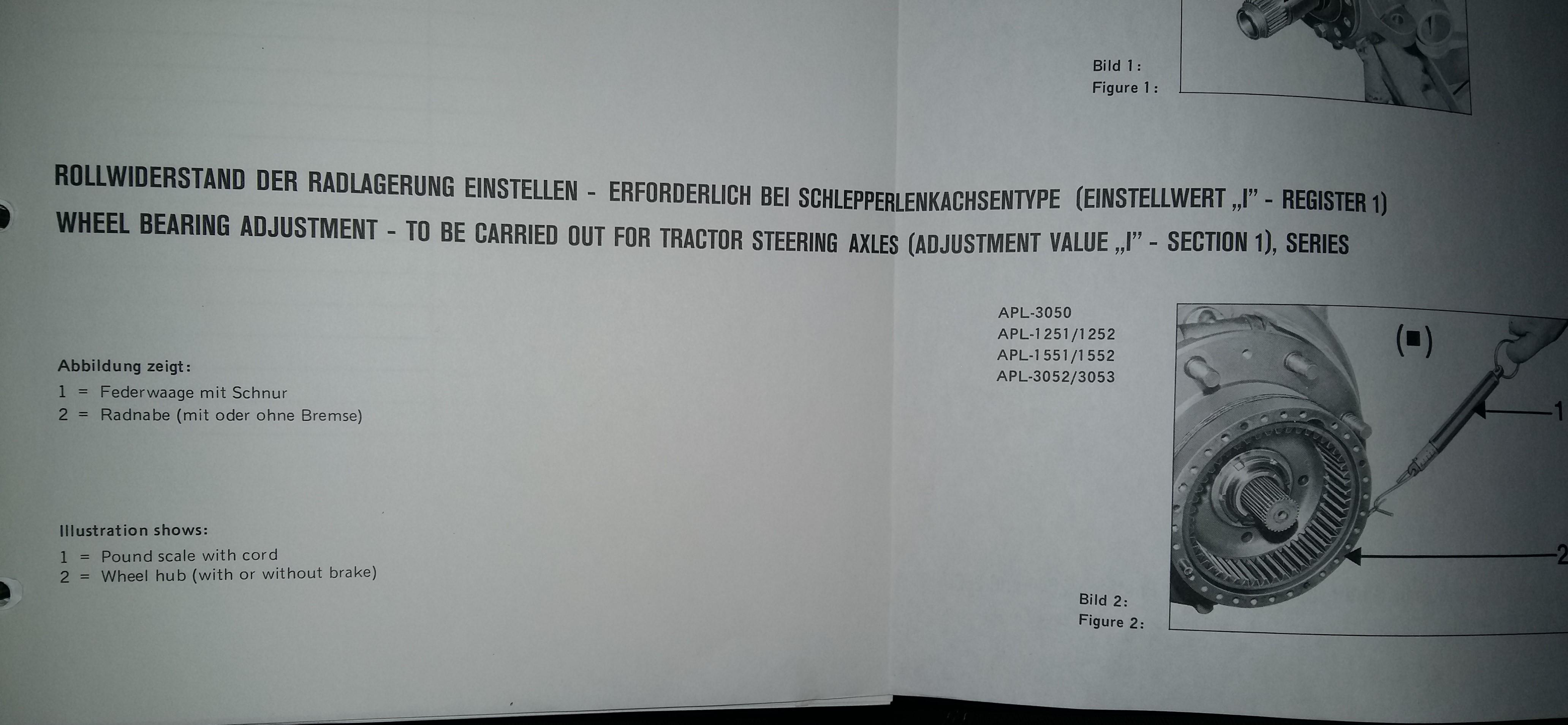 ZF O-Ring für Achsschenkel Lager APL 1551 1552