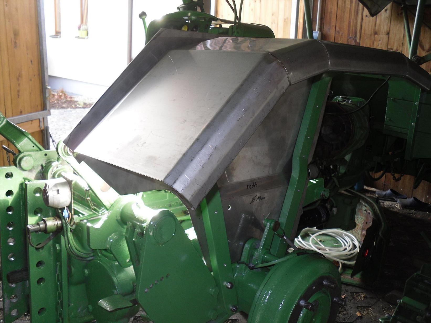 Hilfe, ich sehe nur noch grün.....(Restaurierung 231GTS) - 200ter ...