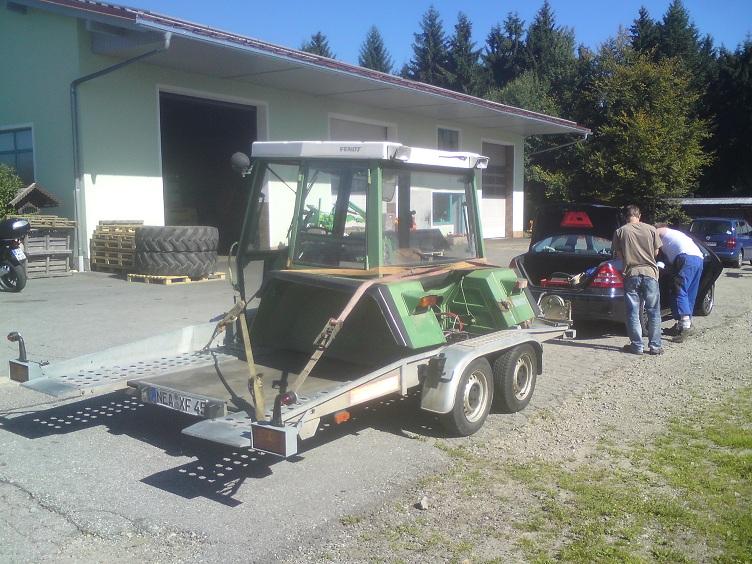 309er kabine auf einen farmer 3s umbauen schau raum. Black Bedroom Furniture Sets. Home Design Ideas
